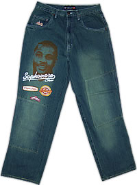 UNK Carmello Anthony Denver Nuggets Sophomore Class of 2004 Player Series Jeans