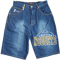 UNK Denver Nuggets Denim Shorts