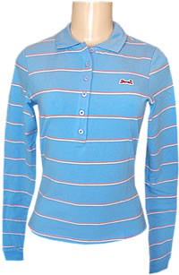 Le Tigre Ladies Classic Stripe Polo