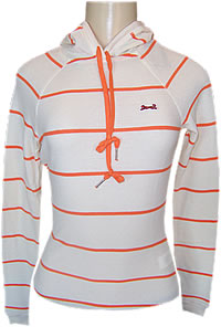 Le Tigre Ladies Single Stripe Hoodie